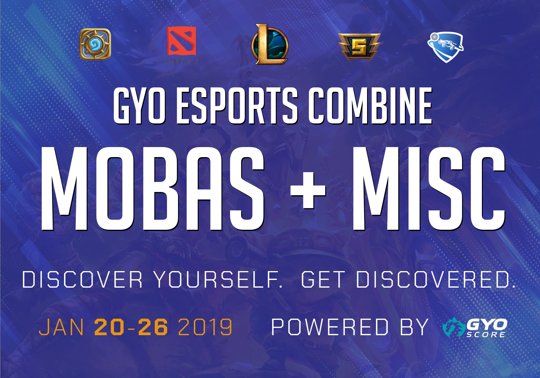 MOBA + Misc Combine - January
